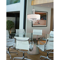 Crystorama Allure 5 Light Chandelier in Chrome 9805-CH alternative photo thumbnail