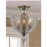 Crystorama 9843-CH-CG Harper 3 Light 14 inch Polished Chrome Semi Flush Mount Ceiling Light alternative photo thumbnail