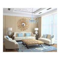 Crystorama Harper 6 Light Chandelier in Polished Chrome 9846-CH-IB alternative photo thumbnail