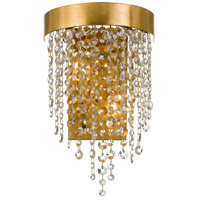 Crystorama WIN-612-GA-CL-MWP Windham 2 Light 10 inch Antique Gold Wall Mount Wall Light