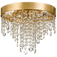Crystorama WIN-613-GA-CL-MWP Windham 4 Light 16 inch Antique Gold Flush Mount Ceiling Light