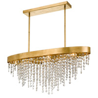 Crystorama WIN-619-GA-CL-MWP Windham 8 Light 36 inch Antique Gold Chandelier Ceiling Light