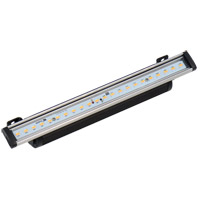 CSL Lighting ECV-10-40-2 Eco-cove 120V LED 11 inch Stainless Steel and Black Light Bar