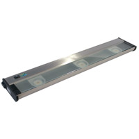 Counter Attack 120V LED 24 inch Stainless Steel Undercabinet Light