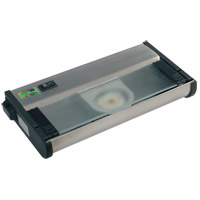 Counter Attack 120V LED 8 inch Stainless Steel Undercabinet Light