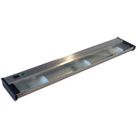CSL Lighting NCAX-120-24SS New Counter Attack 120V Xenon 24 inch Stainless Steel Undercabinet Light