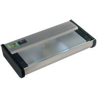 CSL Lighting NCAX-120-8SS New Counter Attack 120V Xenon 8 inch Stainless Steel Undercabinet Light