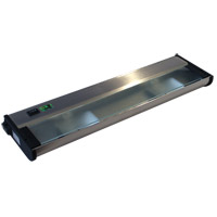 CSL Lighting NCAX120L-16SS New Counter Attack 120V Xenon 16 inch Stainless Steel Undercabinet Light
