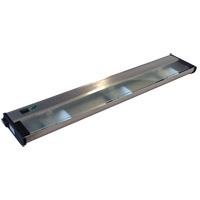 CSL Lighting NCAX120L-24SS New Counter Attack 120V Xenon 24 inch Stainless Steel Undercabinet Light