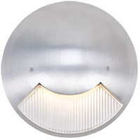 Lunar 120V 6 watt Silver Metallic Step Light