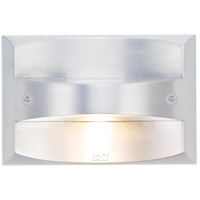 CSL Lighting SS3001-SM Arch 120V 3 watt Silver Metallic Step Light