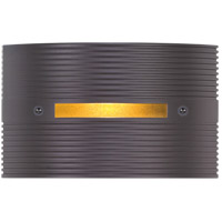 Groove 120V 3 watt Bronze Step Light