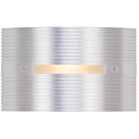 Groove 120V 3 watt Silver Metallic Step Light