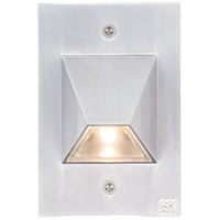 Edge 120V 3 watt Silver Metallic Step Light