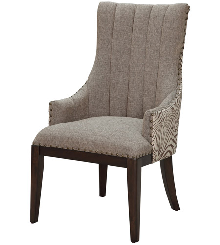 Crestview Collection CVFZR1473 Safari Accent Chair photo