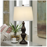 Crestview Collection AER663BRZSNG Element Table Lamp Portable Light
