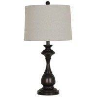 Crestview Collection AER782BRZSNG Element Table Lamp Portable Light