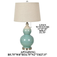 Crestview Collection AP2145SNG Element Table Lamp Portable Light