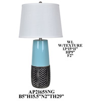 Crestview Collection AP2165SNG Element Table Lamp Portable Light