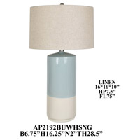 Crestview Collection AP2192BUWHSNG Element Table Lamp Portable Light