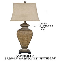 Crestview Collection AVP1058UCNSNG Element Table Lamp Portable Light