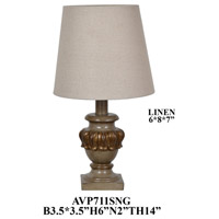 Crestview Collection AVP711SNG Element Table Lamp Portable Light