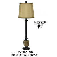 Crestview Collection AVP869SNG Element Table Lamp Portable Light