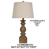 Crestview Collection AVP882BESNG Element Table Lamp Portable Light
