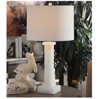 Crestview Collection CVAVP854 Kinsley 31 inch 150 watt Alabaster Table Lamp Portable Light