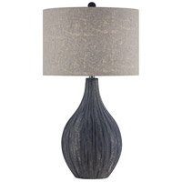 Navy Ceramic Table Lamps