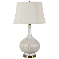 Glazed Ceramic Crystal Table Lamps