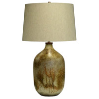 Crestview Collection CVIDZA020 Chambers 32 inch 150.00 watt Handfinished Rustic Gold Table Lamp Portable Light