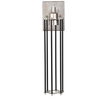 Crestview Collection CVW1P399 Hudson 1 Light 6 inch Antique Brass and Black Wall Sconce Wall Light