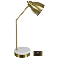 Crestview Collection EVAER1606USB Liam 20 inch USB Task Lamp Portable Light