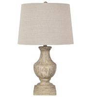 Crestview Collection EVAVP1370 Amelia 27 inch 100.00 watt Brown Table Lamp Portable Light
