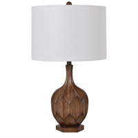 Crestview Collection EVAVP1452 Amelia 28 inch 150.00 watt Brown Table Lamp Portable Light
