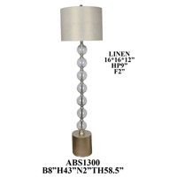 Crestview Collection Element Floor Lamps