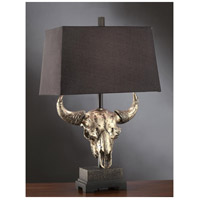 Crestview Collection CSAUP767 Master of the Prairies 32 inch 150 watt Natural Bronze Table Lamp Portable Light