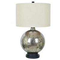 Crestview Collection CVABS1355 Dawkins 31 inch 150 watt Antique Mercury Table Lamp Portable Light