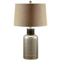 Crestview Collection CVABS819SNG Portland 26 inch Table Lamp Portable Light