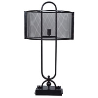 Crestview Collection CVAER1062 Windsor 37 inch 60 watt Oil Rubbed Bronze Table Lamp Portable Light