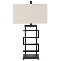 Crestview Collection CVAER1076 Foxwall 34 inch 100 watt Oil Rubbed Bronze Table Lamp Portable Light