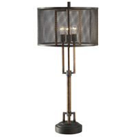 Crestview Collection CVAER761 Winchester 39 inch 60 watt Copper and Iron Table Lamp Portable Light