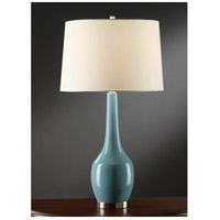 Blue Ceramic Metal Table Lamps