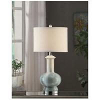 Crestview Collection CVAP1615 Sea Breeze 28 inch 40 watt Glazed Blue Table Lamp Portable Light