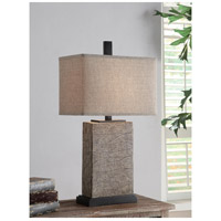 Crestview Collection CVAUP858 Mason 31 inch 150 watt Crackled Gold Table Lamp Portable Light
