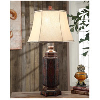 Crestview Collection CVAVP013 Reservation 34 inch 150 watt Resin Blanket Table Lamp Portable Light