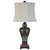 Crestview Collection CVAVP084 Ashton 33 inch 150 watt Colored Table Lamp Portable Light