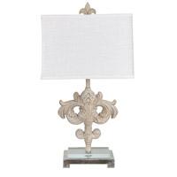 Crestview Collection CVAVP1005 Ainsley 29 inch 150 watt Toasted Cream Table Lamp Portable Light