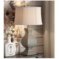 Crestview Collection CVAVP919 Easton 32 inch 150 watt Tarnished Green Table Lamp Portable Light